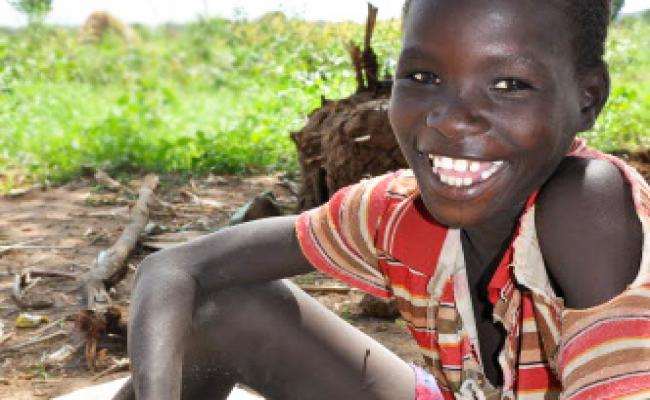 Lokaale, one of the local children in Turkana County