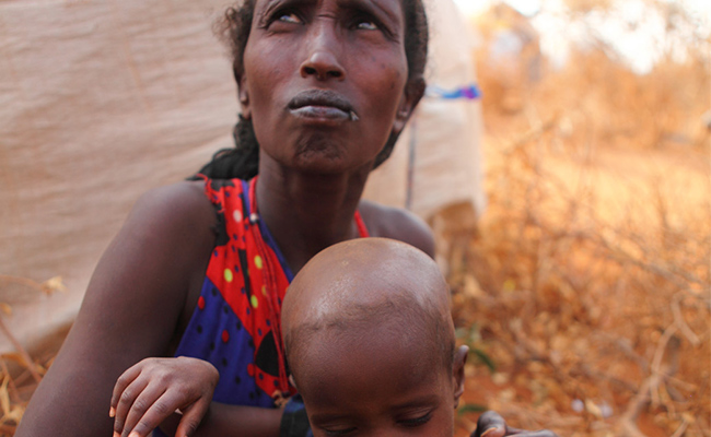 'We don't have enough food and water,' says mother-of-four Maka.