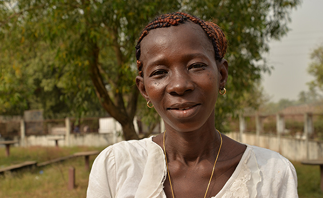 Mansary Kamara survived Ebola