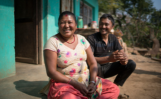 Shanta Shrestha & Husband