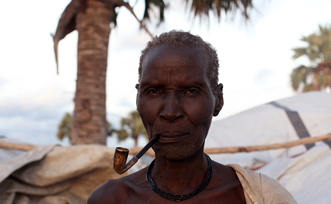 Nyakuong Madol who survived conflict in South Sudan